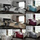 Duvet sets Decorated or Matching Curtains, Cushion covers & Door Panels All size