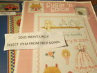 Sue Hillis Designs Birth Announcement Cross Stitch CHART & CHARM-Your Choice