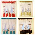 White Voile Net Curtain  Ready Made 400x150