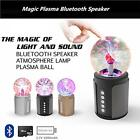 Magic Plasma Ball Lightning Lamp Wireless Bluetooth Speaker for iPhone & Android