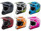 Fly Racing Kinetic Burnish Helmet Motocross Dirt Bike Offroad MX ATV Snowmobile