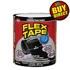 "Flex Tape 4"" x 5' Super Strong Rubber Waterproof Adhesive Sealant Patch Leaks"