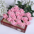 Elegant Artificial Peony Silk Rose Flowers Home Party Decor Wedding Decoration