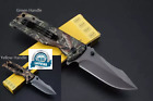 Survival Camouflage Folding Knife X 58 Professional Quality Knife