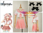 Fate/Apocrypha Astolfo Sailor Uniform Dress Cosplay Costume Custom For Any Adlut