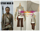 2017 Star Wars&The Last Jedi Rey Battleframe Cosplay Costume Clothing Custom