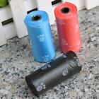 5 Rolls Pet Dog Waste Clean Poop Bags Pick Up Pooper Bags Pet Supplies