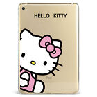 New Cartoon Hello Kitty Clear Soft Silicone Case Cover For Samsung Ipad F01kt372