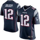 Nike #12 Tom Brady New England Patriots Mens NFL game jersey 100% authentic!