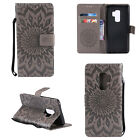 For Samsung Galaxy Note 9/S9/S8 Flower Wallet Leather Case Flip Stand Case Cover