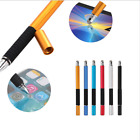 2in1 PEN + STYLUS Fine Point Round Thin Tip Touch Screen Pen Capacitive Stylus