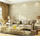 10M European Style Environmental 3D Non-woven Flocking Living Room Wallpaper5.3㎡