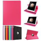 360° Rotating Magnetic Leather Case Smart Cover Stand Sleep/wake For Apple Ipad