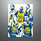 Golden State Warriors Big Four Poster FREE US SHIPPING on eBay
