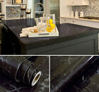 Marble Effect Counter Top Contact Paper Vinyl Self Adhesive Decor Wallpaper New