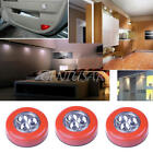 Wireless Auto Sensor Motion LED 3-Led Night Light Lamp Safety Battery Powered