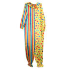 Halloween Circus Clown Costume Comedy Funny Cosplay Party Adult Mens Fancy Dress