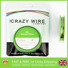 0.25mm (32 AWG) - Comp SS316L (Marine Grade Stainless Steel) Wire - 15.28 ohms/m