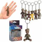Cute Baby Groot Guardians of the Galaxy Vol.2 Key Chain Alloy Keyring Pendant UK