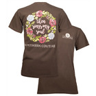 Southern Couture Womens Christian T-Shirt: Then Sings My Soul | Comfort Color