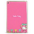 Kawaii Hello Kitty Rilakkuma Silicone Tpu Case Cover For Samsung Ipad A08d45