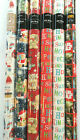 Giftmaker Christmas Foil Present Gift Wrapping Paper (2 x 2mtr Rolls)
