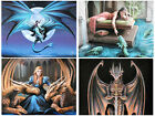 Dragon Canvas Prints by Anne Stokes - 4 New Magical Wall Hanging Designs