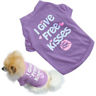 Pet Dog shirt-boy-girl Dog  t-shirt- or kitty- fitted soft for Fall SIZES XSM-SM
