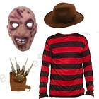 MENS ADULTS COMPLETE BURNT MAN FANCY DRESS COSTUME TV HALLOWEEN HORROR