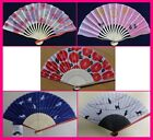 Japan Folding Hand Fan : Sensu : Wedding, Birthday,Gift : Sakura,Cat, Flower