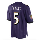 Nike Joe Flacco Baltimore Ravens #5 Limited On Field Stitched Jersey $150 Mens S
