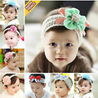 Baby Girls Lovely Elastic Lace Flower Hair Band Headband Hair Accessories