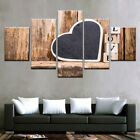 Love Heart Love Quotes Painting Poster Prints Modern Canvas Wall Art Home Decor