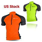 Sponeed Bicycle Shirts for Men Cycle Jersey Breathable Half Zipper Bike Clothes