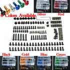 223 Motorcycle Sportbike Windscreen Fairing Bolts Kit Fastener Clips Screws USA