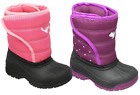 INFANT GIRLS WATERPROOF WINTER RAIN SNOW BOOTS WELLINGTONS MOON MUCKER SHOE SIZE