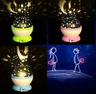 Romantic Rotating Cosmos Star Sky  Projector Rotation Night LED Projection Lamp