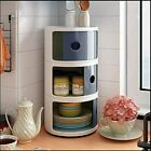 SLIM SLIDE OUT STORAGE TOWER BATHROOM ROLLING CASTOR KITCHEN TROLLEY SPICE RACK