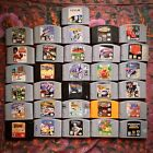 Nintendo 64 Games **$3 Off Each Additional Game Purchased!** N64 Lot