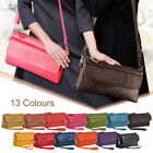 Women's Faux Leather Lady Clutch Shoulde Bag Big Capacity Stylish And Practical