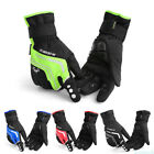 Adjustable  Winter Cycling Gloves Full Finger Touch Screen Gloves Windproof