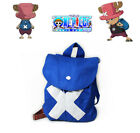 One piece Tony Tony Chopper Two Years ago Bag Cosplay Accessories Blue Backpack