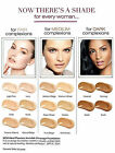 Avon Ideal Flawless Invisible Coverage Cream to Powder Foundation SP15 - various