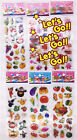 TOP SALE 3D Puffy Kids Scrapbooking Paper Crafts Party Favors Stickers Lot gift