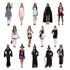 Halloween Fancy Dress Dressing Up Outfits Costumes Various Designs Adult Female