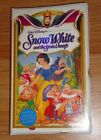 Disney's SNOW WHITE AND THE SEVEN DWARFS VHS Video New & Sealed