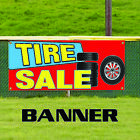 car tire sales - Tire Sale New & Used Auto Body Shop Car Repair Advertising Vinyl Banner Sign
