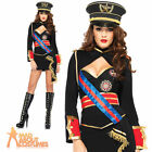 Diva Dictator Costume Adult Sexy Army Girl Fancy Dress Leg Avenue Ladies Outfit