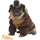 Pet Dog Mr T Costume A Team Pity the Fool Celebrity TV Fancy Dress Outfit New