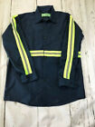 Reed High Visibility Hi Vis Enhanced Reflective Safety Work Uniform Shirts